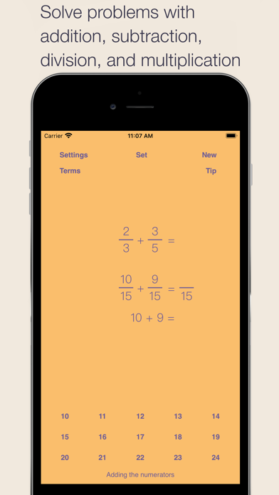 Fraction Math Screenshots