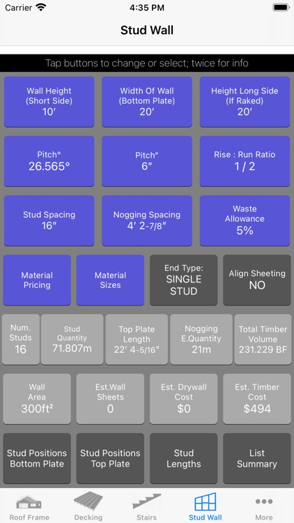 Roof Guide - Carpentry Calc screenshot-5