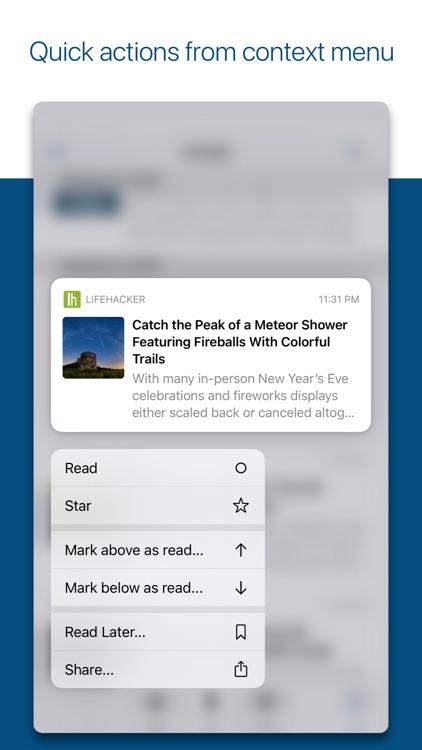 ReadKit - Read later and RSS screenshot-6