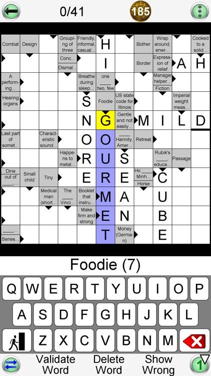 Arrow Crossword & Other Games