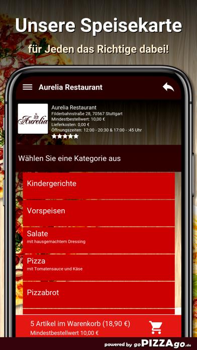 Aurelia Restaurant Stuttgart screenshot 4