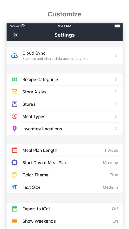MealBoard - Meal Planner screenshot-5