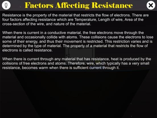 Factors Affecting Resistance screenshot 8