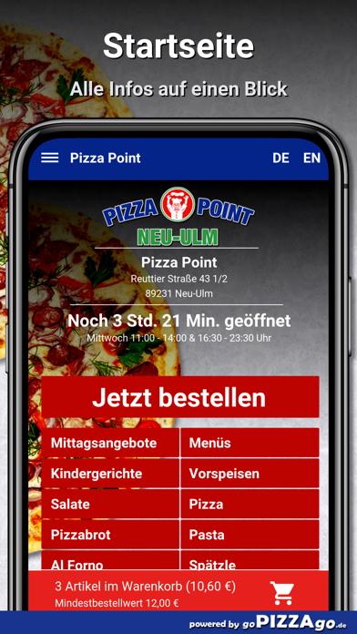 Point Neu-Ulm Pizza screenshot 2