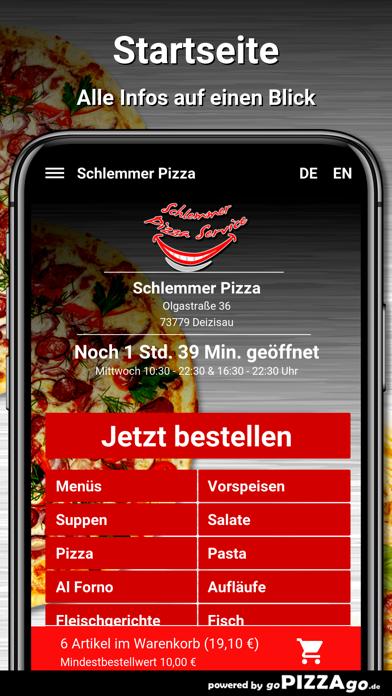 Schlemmer Pizza Deizisau screenshot 2