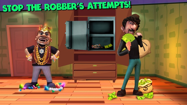 Scary Robber Home Clash screenshot-4
