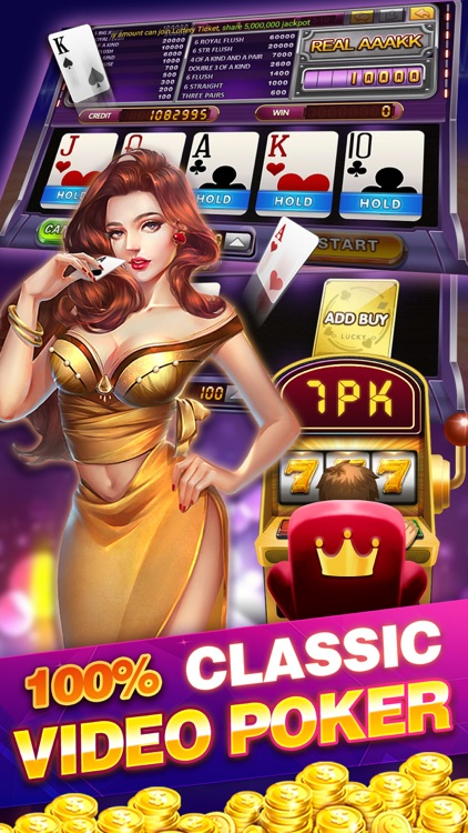Golden Gourd Video Poker By Rock Game