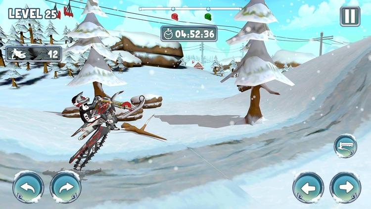 Snow Bike Racing Game screenshot-5