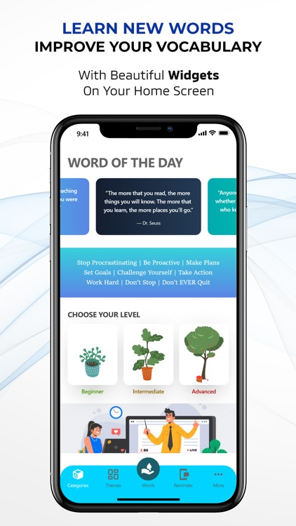 Word Of The Day Widget-English