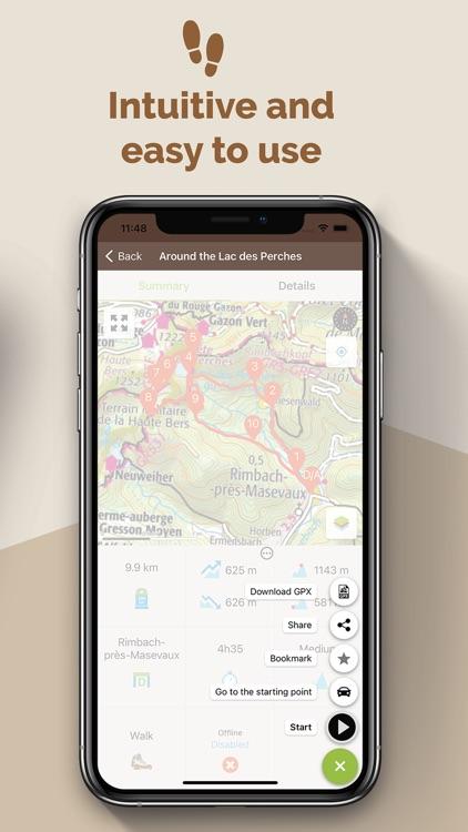 Visorando - Route ideas screenshot-4
