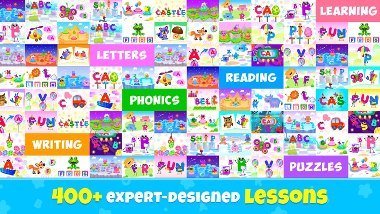 ABC Phonics Kids Reading Games screenshot-8