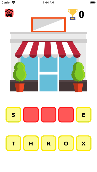 Words Puzzle-5 Letters Screenshot