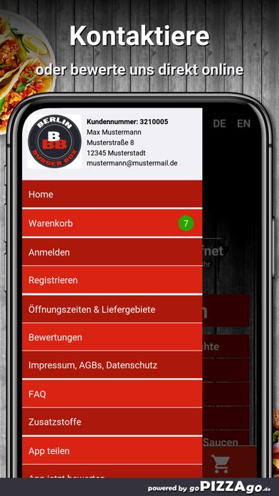 Berlin Burger Box Berlin screenshot 3