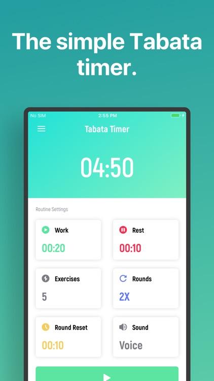 Tabata Timer □