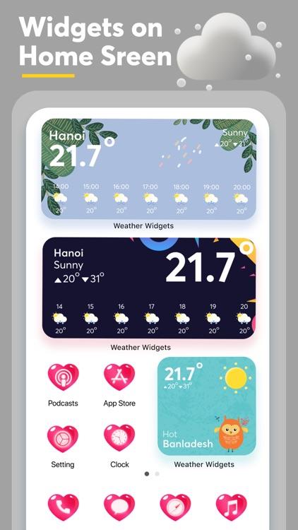 Weather Widget - Radar Channel screenshot-6