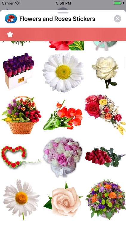 Flowers and Roses Stickers screenshot-5