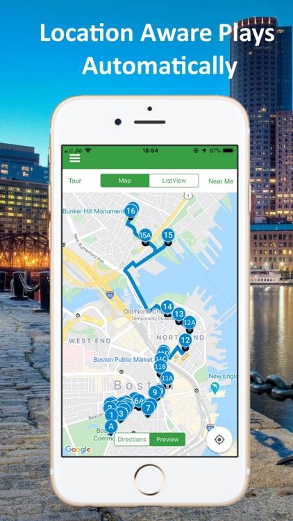 Boston Audio GPS Tour Guide