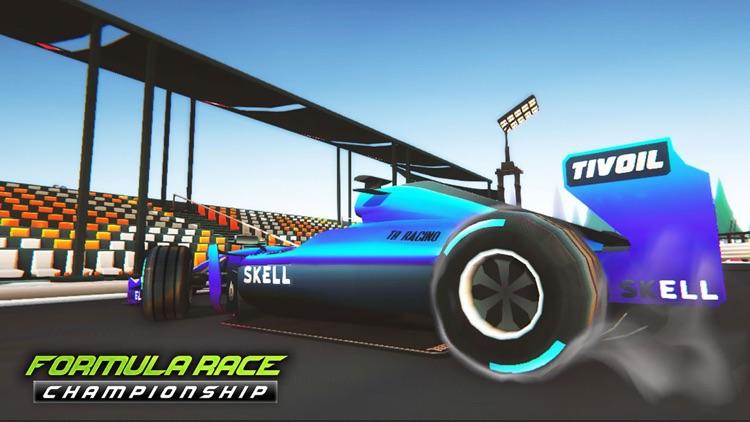 Mega Formula Cars - 3D Racing screenshot-5