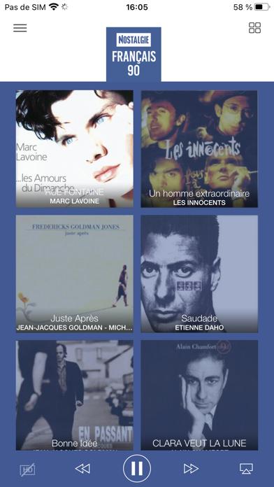 messages.download Nostalgie Radio software