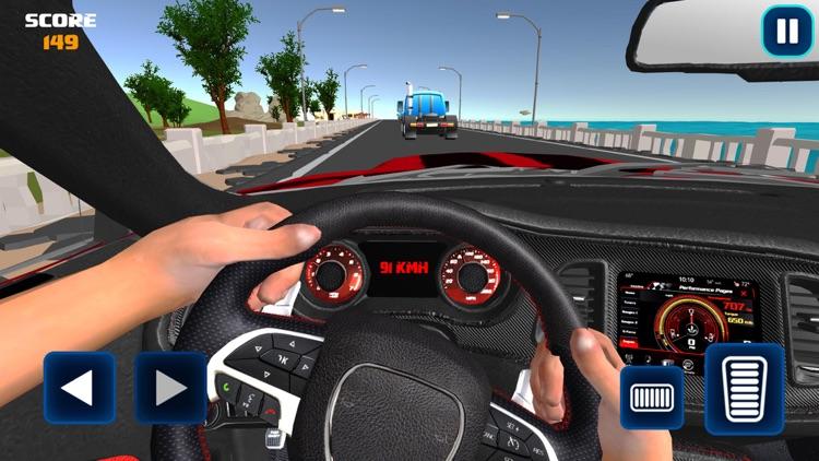 Driving in Car - Simulator screenshot-4