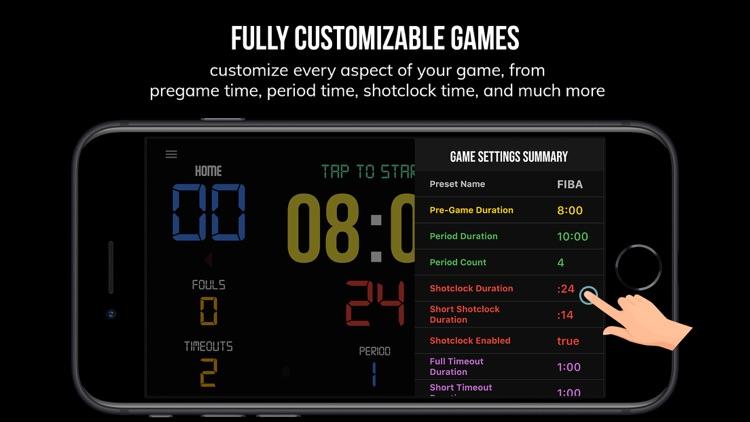 BT Scoreboard - Basketball screenshot-8