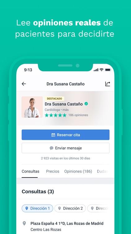 Doctoralia - Cuidá de tu salud screenshot-3