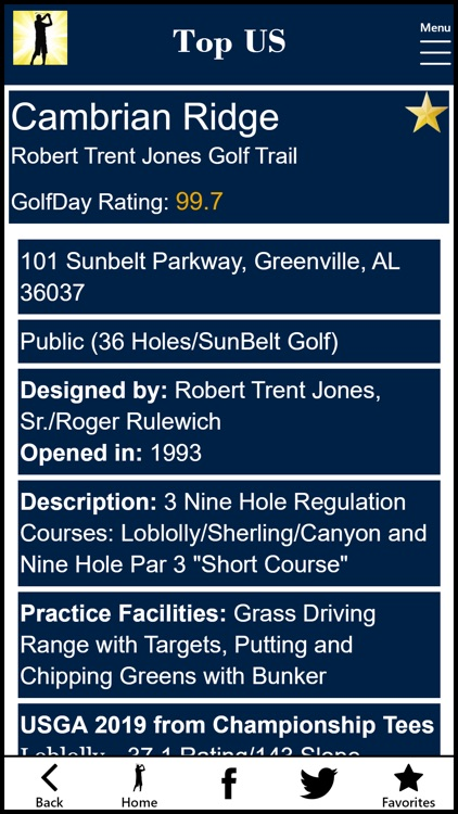 GolfDay Top US screenshot-3