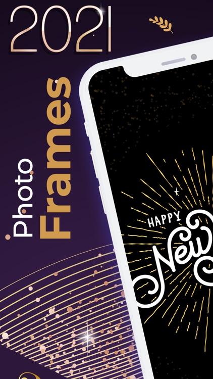 2021 Happy New Year Frames screenshot-3