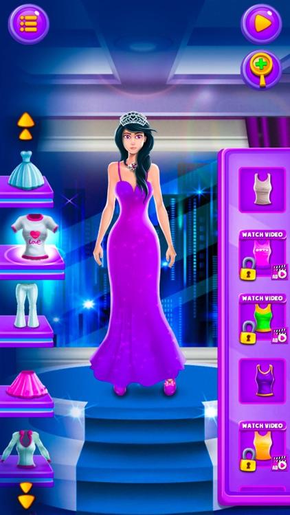 Princess Dress Up Time Make up screenshot-4