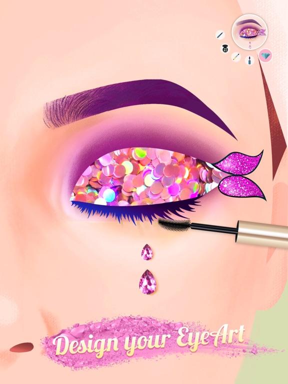 iPad Image of Eye Art: Perfect Makeup Artist