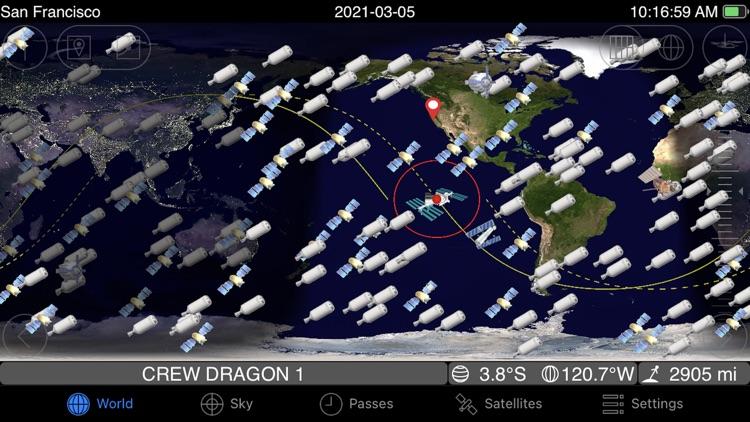 GoSatWatch Satellite Tracking screenshot-4