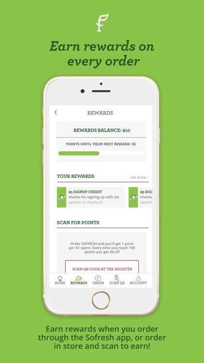 SoFresh App screenshot-3