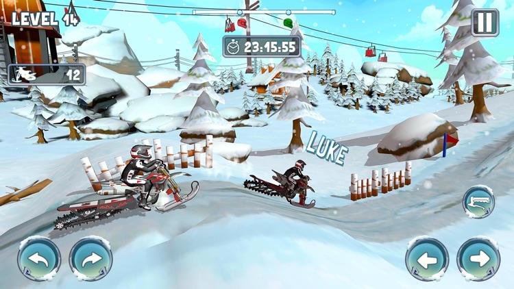 Snow Bike Racing Game screenshot-4