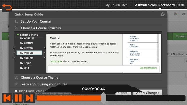 Overview for Blackboard Learn screenshot-3