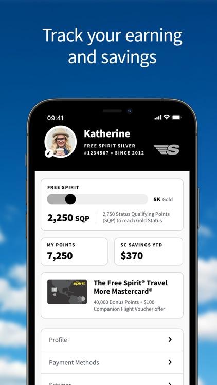 Spirit Airlines screenshot-3