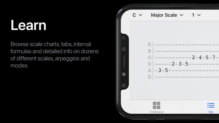 Guitar Scale Finder Tool