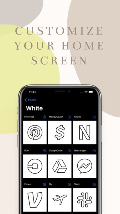Home Screen Icons Tuning