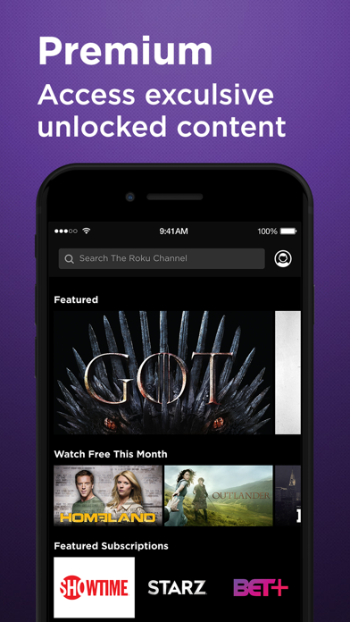 Roku Channel: Movies & Live TV screenshot 5