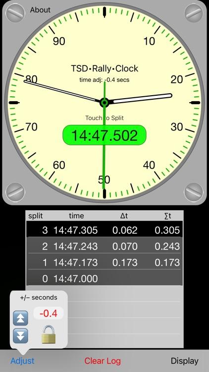TSD Rally Clock screenshot-3