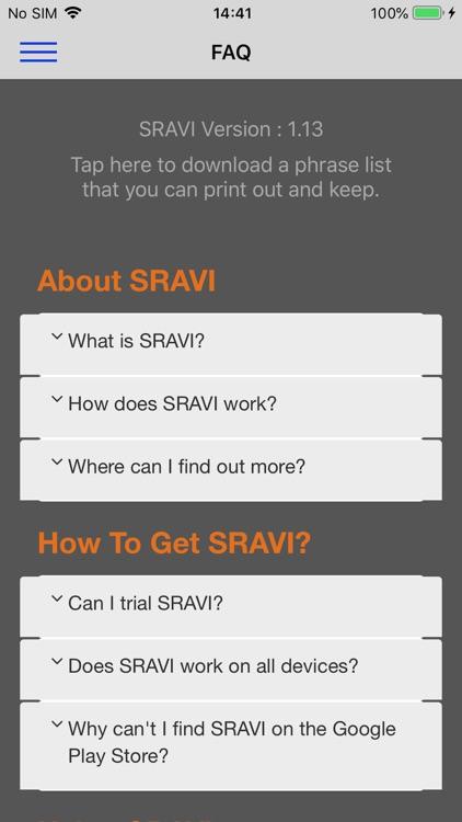 SRAVI screenshot-4