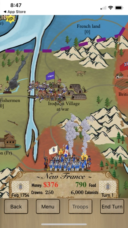 The French and Indian War screenshot-7