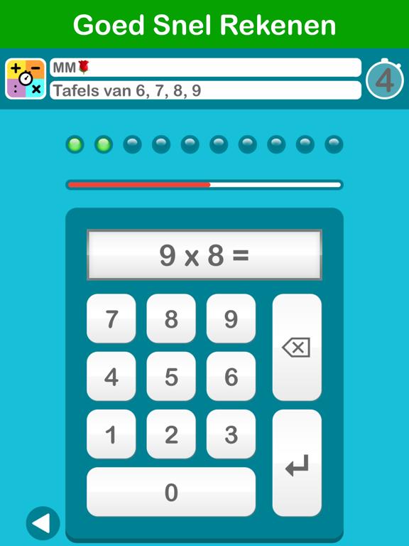 Goed Snel Rekenen iPad app afbeelding 6