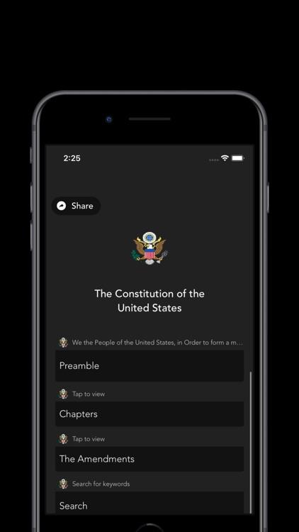 United States Constitution. screenshot-3