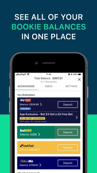 oddschecker Sports Betting screenshot two