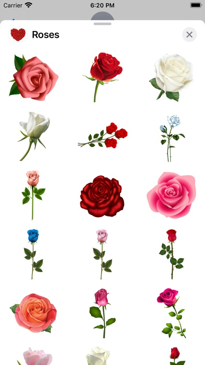 Roses to Love Stickers screenshot-3