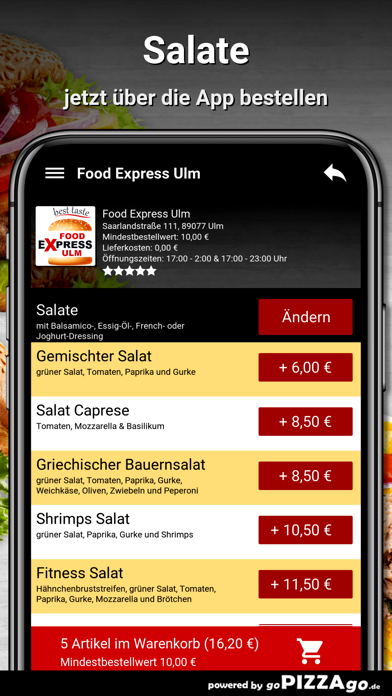 Food Express Ulm Ulm screenshot 5