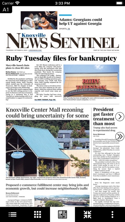 Knoxville News Print Edition