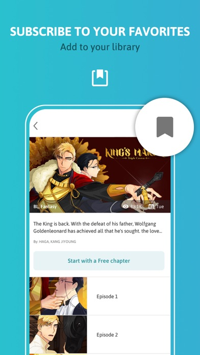 Tappytoon Comics & Webtoons Screenshot