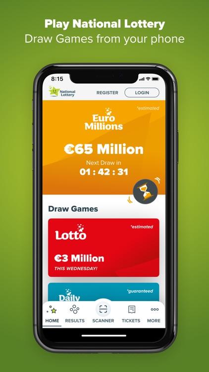 National Lottery - Lottery.ie screenshot-0