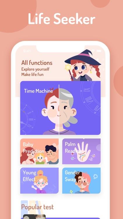 LifeSeeker-Tests&FaceEffects screenshot-8